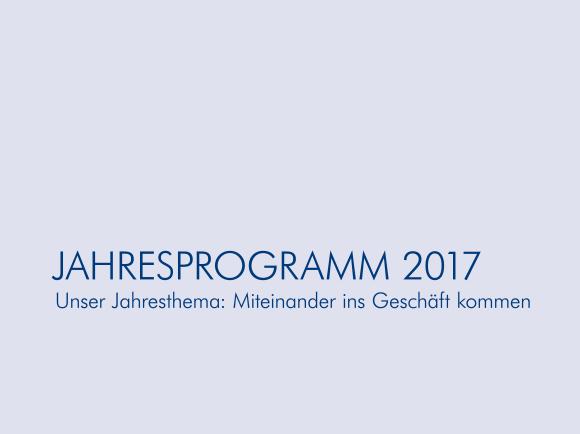 Unser Jahresprogramm 2017