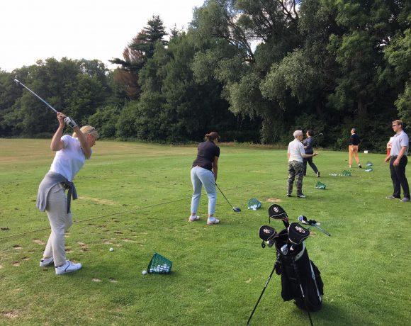 Sommerfest auf dem Golfplatz