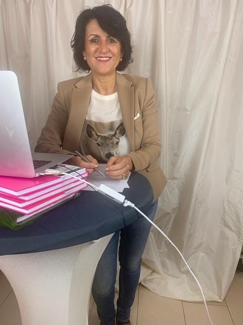 Barbara Rottwinkel-Kröber bei der Arbeit